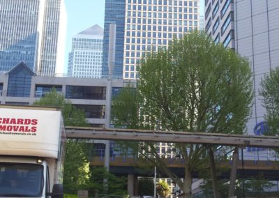Canary Wharf move